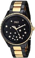 Jivago Women's JV2417 Sky Analog Display Swiss Quartz Two Tone Watch