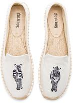 Soludos Zebra Smoking Slipper