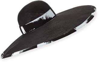 Eugenia Kim Sydney Sun Hat w/ Scarf Tie