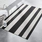 CB2 Chilewich ® Black And White Mat