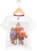 Little Marc Jacobs Boys' Printed Short Sleeve Shirt w/ Tags