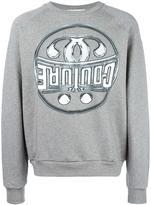 Moschino logo print sweatshirt - men - Cotton - XL