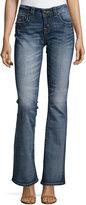 Miss Me Mid-Rise Boot-Cut Denim Jeans, MK 296