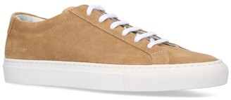 Common Projects Suede Original Achilles Low-Top Sneakers