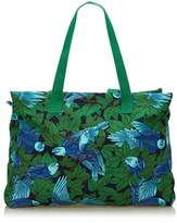 Hermes Pre-owned: Printed Cotton Tote Bag.