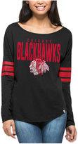 '47 Women's Chicago Blackhawks Courtside Long Sleeve T-Shirt