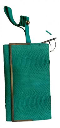 Damir Doma Green Water snake Handbags