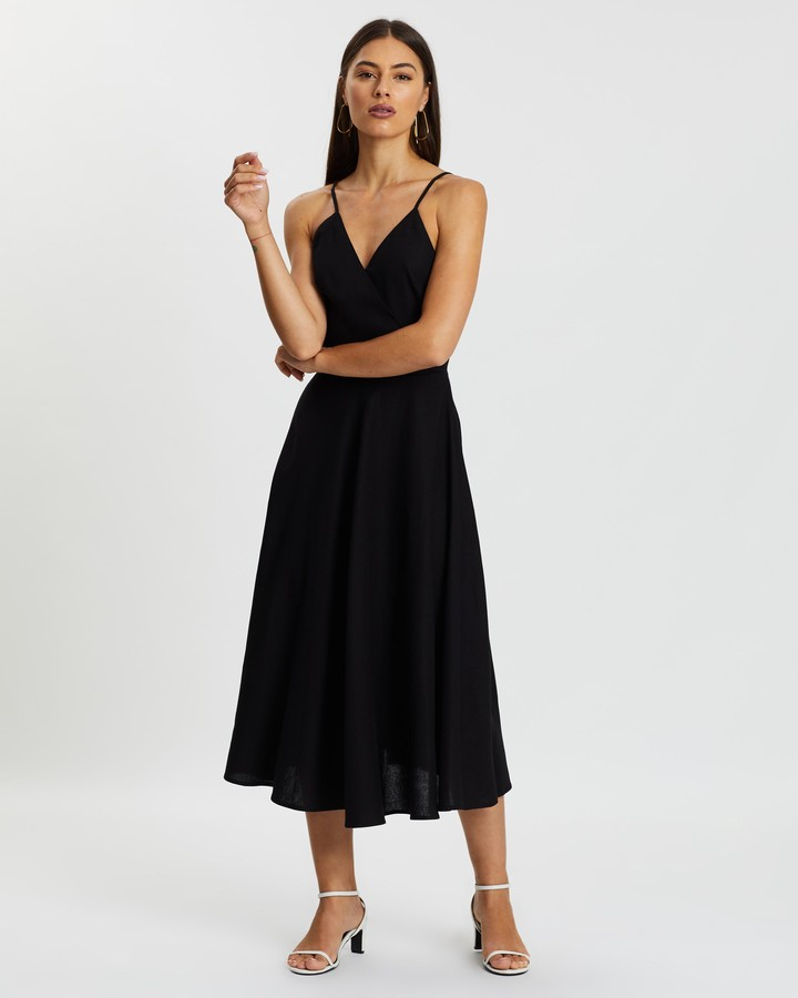 Atmos & Here Paige Tie Back Dress