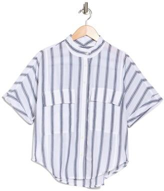 Frame Safari Striped Short Sleeve T-Shirt