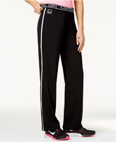 Material Girl Active Juniors' Graphic Track Pants, Only at Macy's