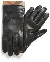 Burberry Women's 'Jenny - House Check' Touch Tech Leather Gloves