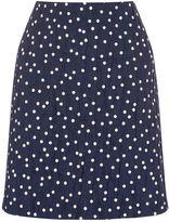 Warehouse Crinkle Spot Skirt