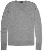 John Smedley - Bobby Merino Wool V-neck Sweater