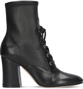Gianvito Rossi Palmer lace-up leather sock boots 85mm