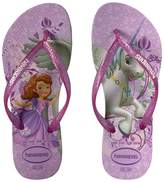 Havaianas Slim Princess Sofia Flip Flops Girls Shoes