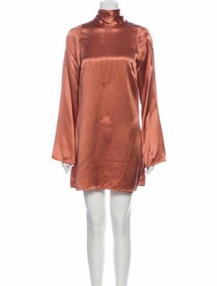 Reformation James Mini Dress w/ Tags Pink