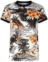 Maje Palm Print T-Shirt