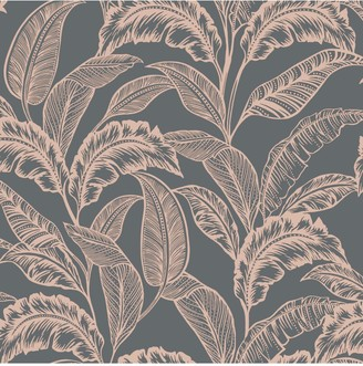 Accessorize Mozambique Wallpaper Grey/Rose