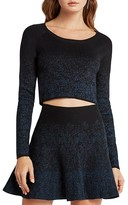 BCBGeneration Cropped Sprinkle Sweater