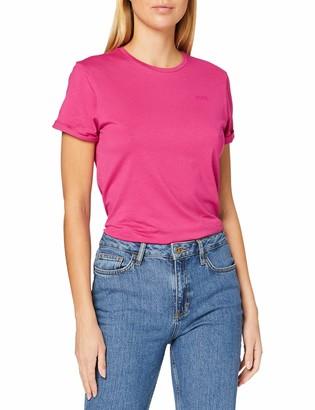 HUGO BOSS Women's Tesolid1 T-Shirt