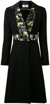 Etro floral coat - women - Silk/Cotton/Polyester/Wool - 40