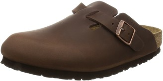Birkenstock BOSTON Greased leather Unisex Adults' Clogs