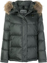 Blauer padded jacket with fur trimmed hood