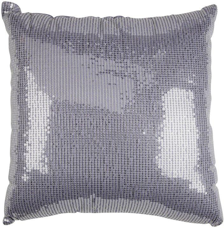 Wamsutta Barcelona Park Purple Sequin Pillow