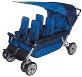 Foundations®; LX6; Six Passenger Stroller - Blue
