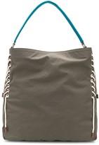 Hogan oversized lace-up shoulder bag