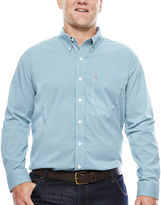 Izod The Advantage Long-Sleeve Gingham Shirt