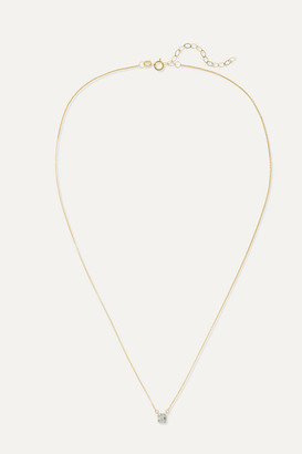 Stone And Strand STONE AND STRAND - Shield Of Strength Gold Diamond Necklace
