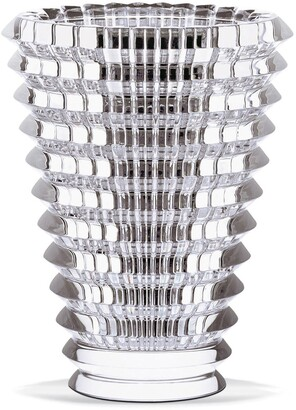 Baccarat Large Round Eye Lead Crystal Vase