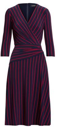Lauren Ralph Lauren Ralph Lauren Striped Jersey Dress