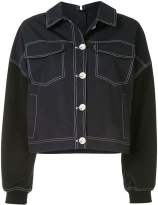Portspure Contrast Stitch Jacket