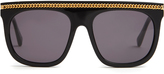 Stella McCartney Falabella D-frame acetate sunglasses
