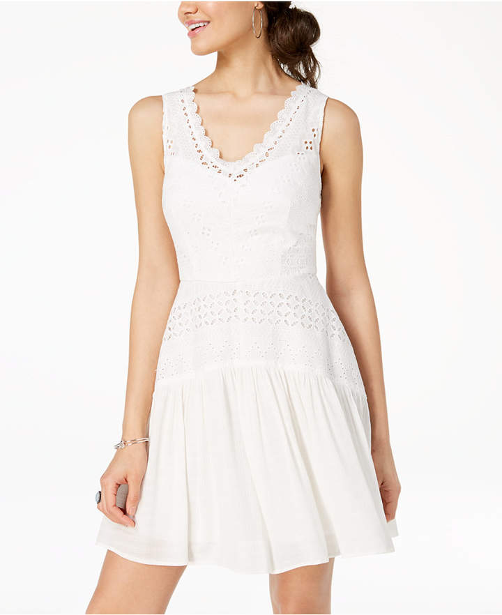 eded99a9416ca White Dresses For Juniors - ShopStyle