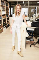 J Brand Natasha Sky-High Super Skinny in Blanc