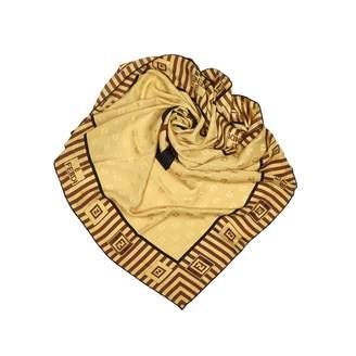 Fendi Gold Silk Scarves