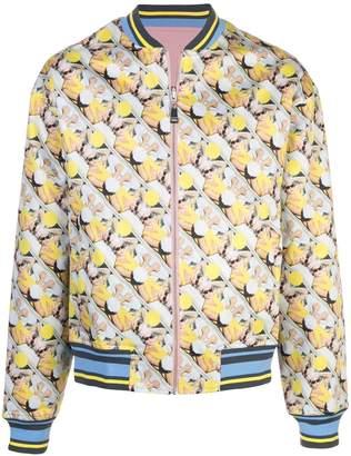 ROCHAMBEAU reversible bomber jacket