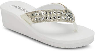 OLIVIA MILLER No Filter Wedge Sandals Women Shoes