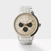 Paul Smith Men's Rose Gold And Silver 'Precision' Watch