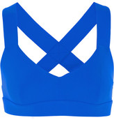 NO KA 'OI No Ka'Oi - Ola Stretch-jersey Sports Bra - Bright blue