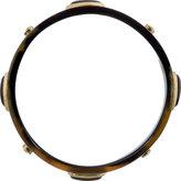 Isabel Marant Black & Grey Horn Studded Seattle Cuff
