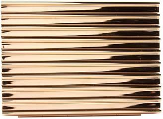 Lee Savage Gold Metal Clutch bags