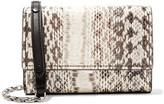 Michael Kors Yasmeen Small Elaphe Shoulder Bag - Snake print