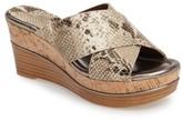 Donald J Pliner Women's 'Dani' Crisscross Wedge Sandal