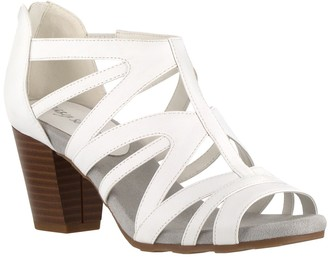 Easy Street Shoes Amaze Caged Heeled Sandal - Multiple Widths Available