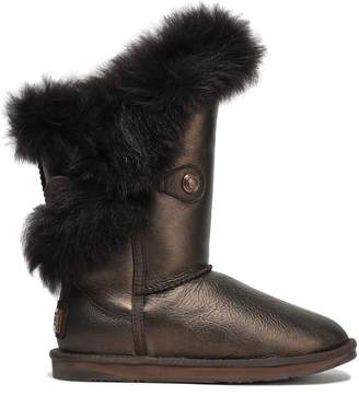 Australia Luxe Collective Metallic Shearling Boots