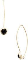 Rivka Friedman Women's Cascading Bezel Set Onyx Drop Earrings